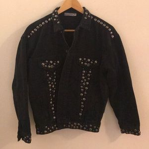 LF Carmar black denim jacket